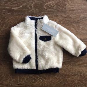 NWT Gymboree Sherpa jacket
